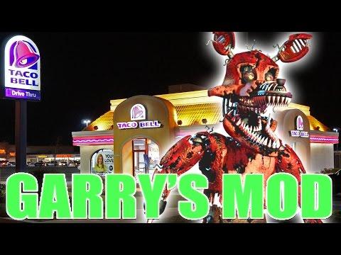 FOXY VISITS TACO BELL!! - Gmod FOXY Mods (Garry's Mod)
