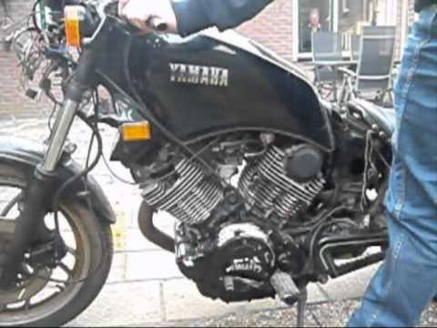 Yamaha virago xv920 test run