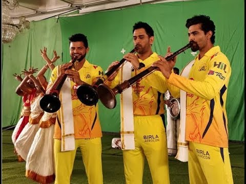 Chennai Super Kings Gears Up For IPL 2018 - Dhoni , Raina , Jadeja Dancing
