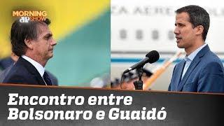 O que sabemos sobre o encontro de Bolsonaro e Juan Guaidó
