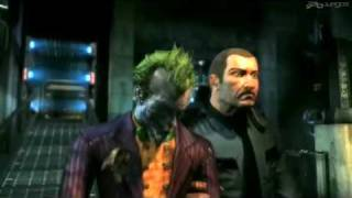 Batman Arkham Asylum Trailer 2