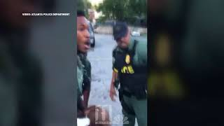 Full Video: Atlanta Police officer, suspect fight in viral arrest