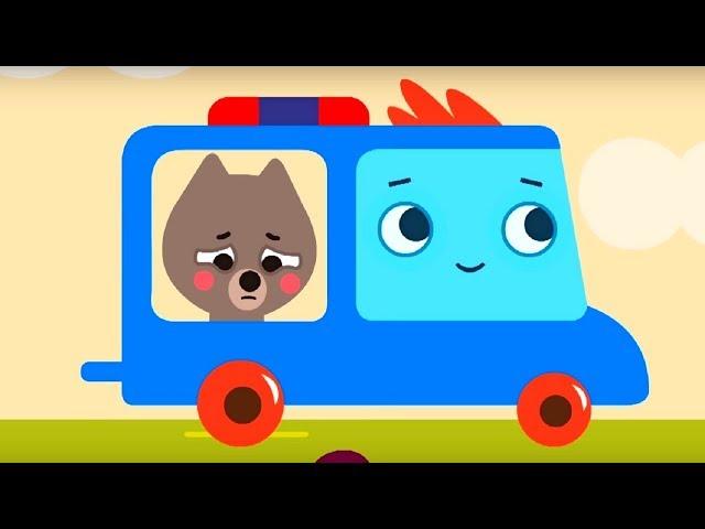 Мультфильм про машинки -  Грузовичок Пик - Волчонок-хулиган+Голодная курочка-для самых маленьких