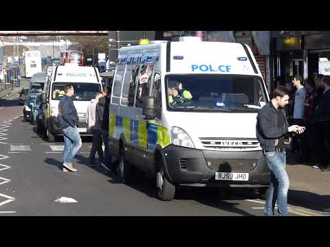 WMP Iveco Daily Public Order Operation Vans (OPS117) (U2A) BN09 KTX and (OPS118) (U2B) BJ59 JHO.