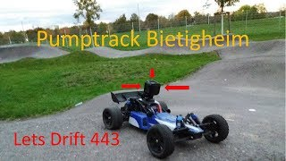 RC Buggy #1 //Pumptrack in Bietigheim//Lets Drift 443