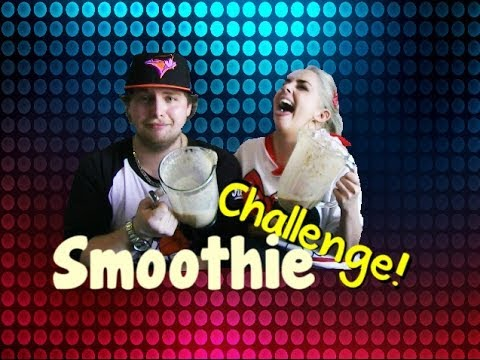 Smoothie Challenge *Warning VOMIT Alert*