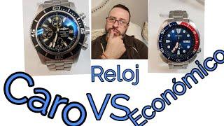 Reloj Caro vs Reloj Económico, Alta Gama vs Economía
