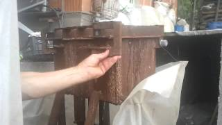 My biggest briquette press