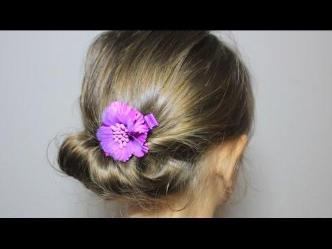 かんたん 夏のまとめ髪/ギブソンタック3 Simple Summer updo hairstyle / Gibson tuck