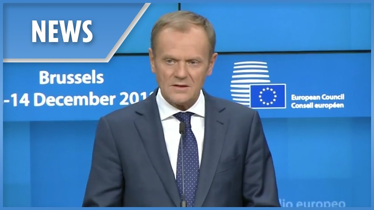 Tusk: Brexit withdrawal agreement is not negotiable