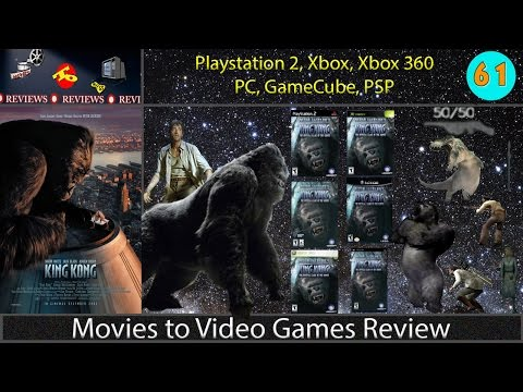 Movies to Video Games Review -- Peter Jackson's King Kong : Game of the Movie (PC/Console/PSP)