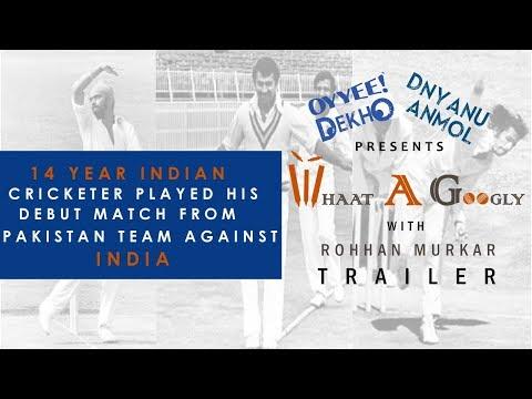 Whaat A Googly | With Rohhan Murkar | Cricket Show | Episode 2 | Trailer