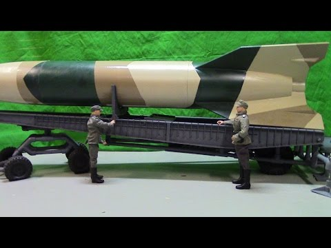 WWII Action Figures RC 1/6 Scale Meillerwagen V-2 Rocket (Meiller Vehicle).