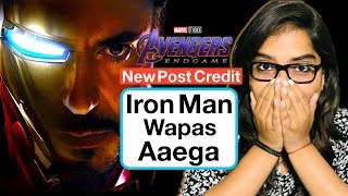 Avengers Endgame Re Release Full Details Discussion | New Post Credit Scene Explained