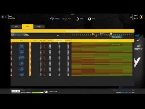 Pro Cycling Manager 2014 - Career - First Look / First Impressions