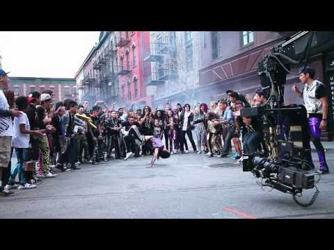On Set Of Party Rock Anthem With Quest Crew video