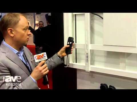ISE 2016: Multibrackets Introduces the M Motorized WallMount