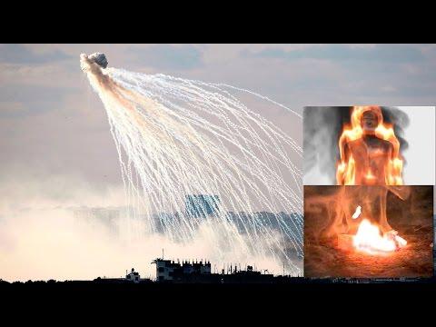 挑戰新聞軍事精華版--俄國轟炸伊斯蘭國, 疑動用化學武器「白磷彈」