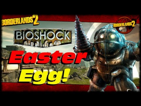 Borderlands 2 Bioshock Big Daddy Little Sister Easter Egg In Captain Scarlett And The Pirates Booty! video