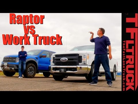 6.2L vs 6.2L Drag Race: Is the Raptor Faster than a Ford F250 with the Same V8?