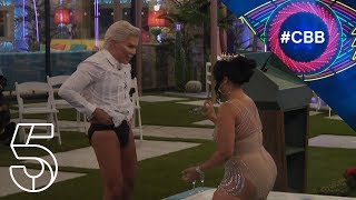 Natalie and Chloe hit the hot tub | Celebrity Big Brother 2018