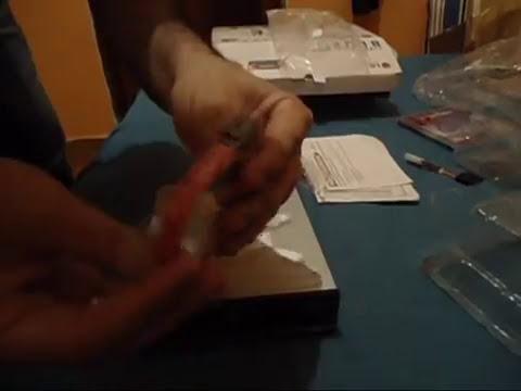 Unboxing Gravador de Blu Ray LG com lightscribe.wmv