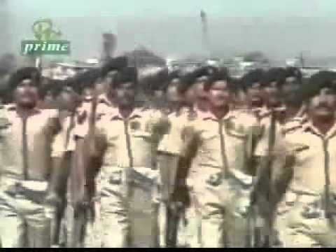 Pakistan Army song Berri Fouj Ke Sipahi (treasure.flv
