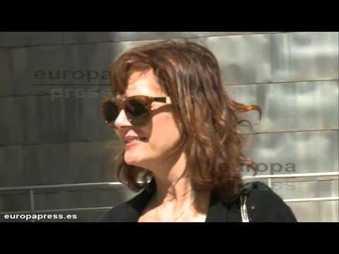 Susan Sarandon, de visita sorpresa en Bilbao