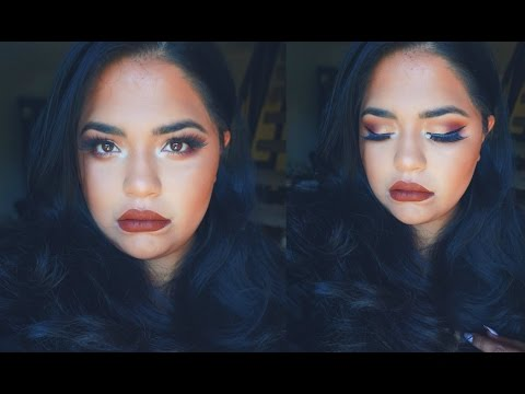 COLOUR POP COSMETICS  KAE POP MAKEUP TUTORIAL| EVERYDAY MAKEUP| GLAMBYRUNA
