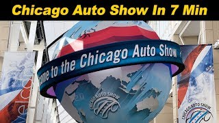 Alex Covers The Chicago Auto Show In 7 Minutes!