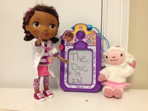 Disney Junior Doc McStuffins Talk and Trace Clipboard Disney Jr Doctor Dottie Mcstuffins + Lambie