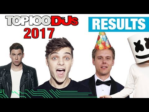 TOP 10 DJ MAG 2017 RESULTS | Top 10 Djs Of The World
