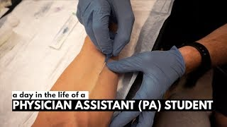 A Day In The Life of A Physician Assistant (PA) Student!