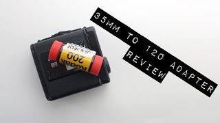 35mm to 120 adapter, the review (avec sous-titres)