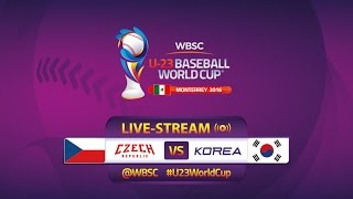 Korea v Czech Republic - U-23 Baseball World Cup 2016 - Gm 5