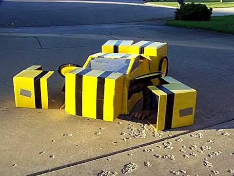 Bumblebee Transformer Costume 2