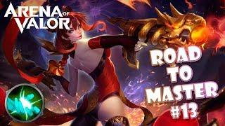 ¡¡VIOLET CON ESTA BUILD DESTROZA...SI TE DEJAN!! ROAD TO MAESTRO #13 | Navalha - Arena of Valor