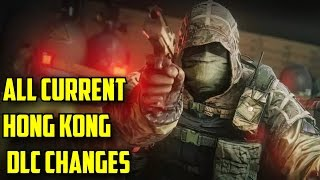 Rainbow Six Siege All Current Hong Kong Operators DLC Changes - You Need to Know Gameplay Changes