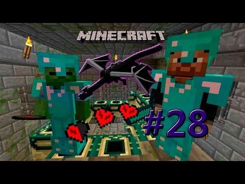 Minecraft Хардкор #28 Дракон!