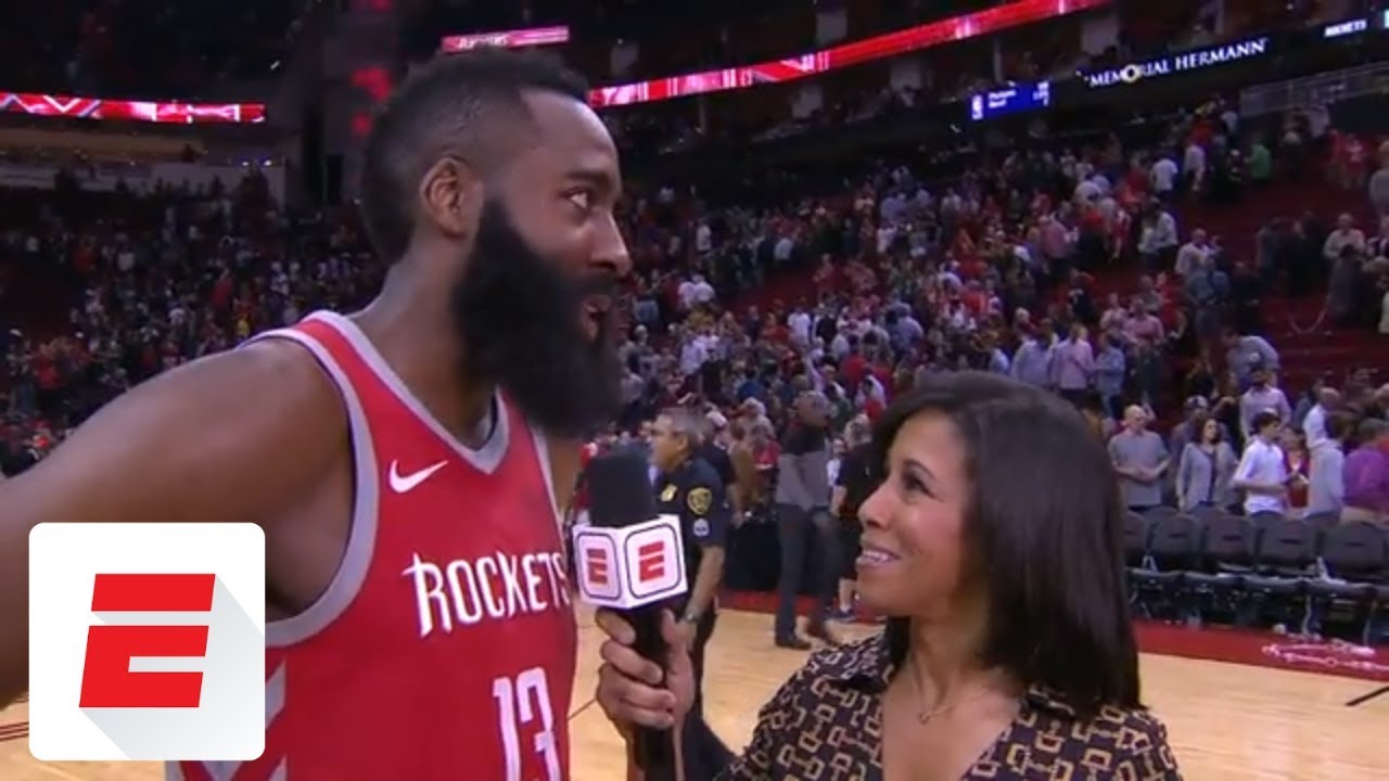 James Harden on Houston Rockets win streak: 'We have to take it one game at a time'   ESPN