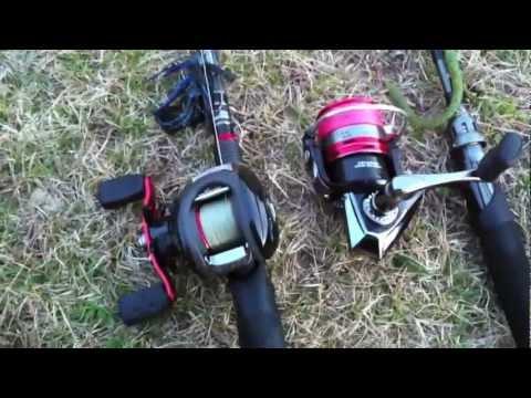 Fishing report - Abu Garcia Black Max & Orra - S Review (TeamRippnLipz1) Video