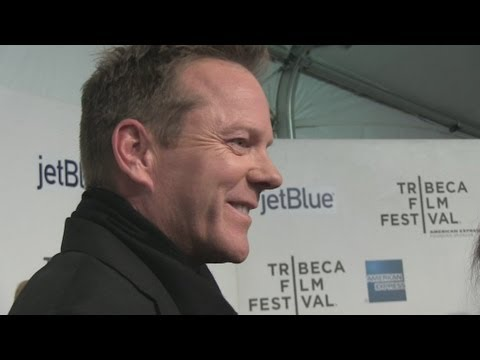 Kiefer Sutherland tight lipped on religion