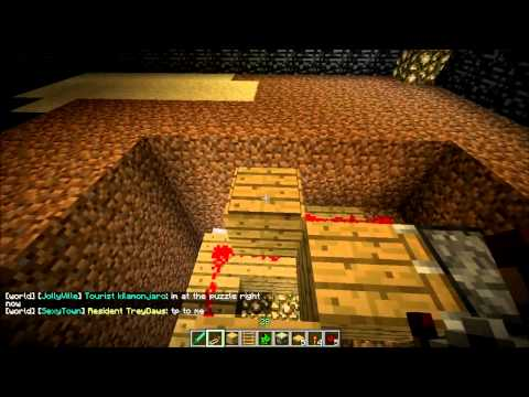 Minecraft Traps: How to Build the Creeper Trap!