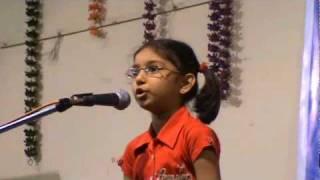 Proshno  Kobita (RECITATION) - Rabindranath Tagore's , recitation by Megha Chakraborty