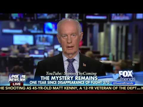 Malaysia Flight 370 : Tom McInerney says Plane could be used for Future Trigger Event (Mar 08, 2015)