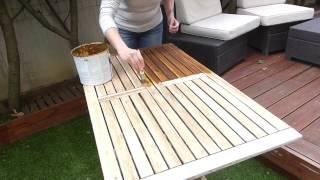 Tuto Diyco By Jane :  Rénover son salon de jardin