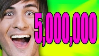 5,000,000 SUBSCRIBERS!