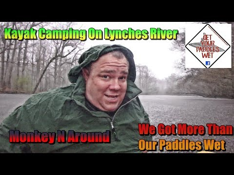 Kayak Camping On Lynches River