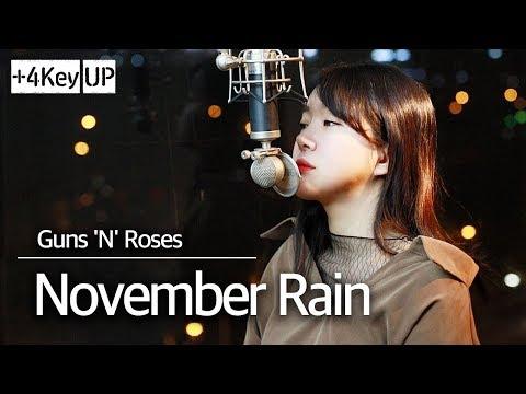 (+4key Up) November Rain Cover - Guns N' Roses L Bubble Dia