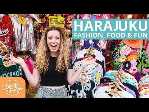 HARAJUKU - FASHION, FOOD & FUN ON TAKESHITA STREET, TOKYO, JAPAN 原宿